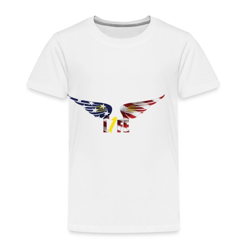 Patriotic1LifeLogo - Toddler Premium T-Shirt