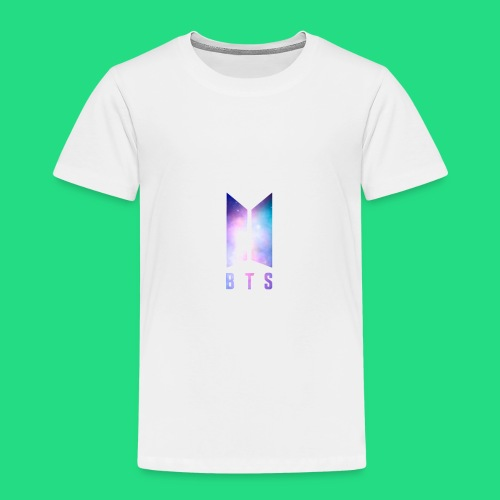 Galaxy BTS Bangtan Sonyeondan Logo - Toddler Premium T-Shirt