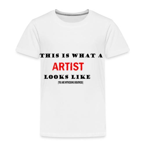Art tee - Toddler Premium T-Shirt