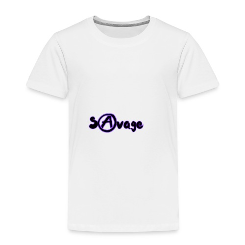 Savage V2 (Black) - Toddler Premium T-Shirt