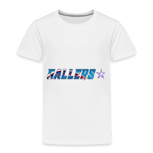 Ballers Lacrosse Team Collection - Toddler Premium T-Shirt