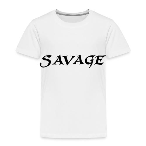 savage - Toddler Premium T-Shirt