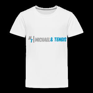 Michael & Tengis - Toddler Premium T-Shirt