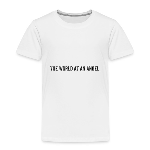 The World at an Angel - Toddler Premium T-Shirt