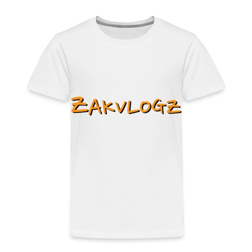 ZakVlogz - Toddler Premium T-Shirt