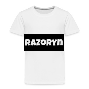 Razoryn Plain Shirt - Toddler Premium T-Shirt