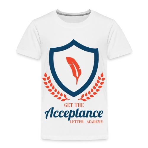 Get The Acceptance Letter Academy Logo - Toddler Premium T-Shirt