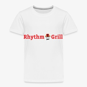 Rhythm Grill word logo - Toddler Premium T-Shirt
