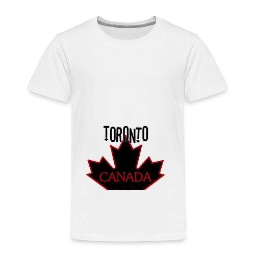 TORONTO CANADA - Toddler Premium T-Shirt