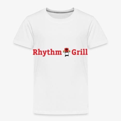Rhythm Grill word logo - Toddler Premium T-Shirt