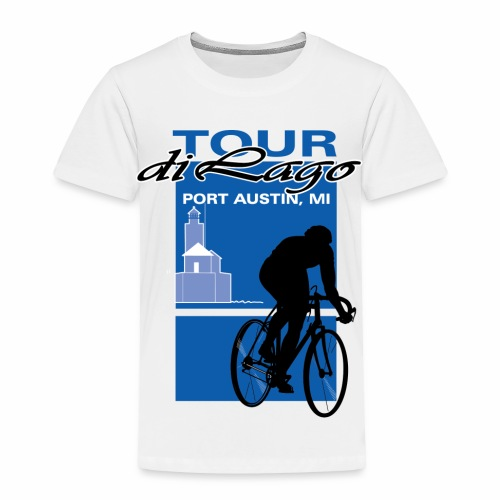 Tour di Lago - Toddler Premium T-Shirt
