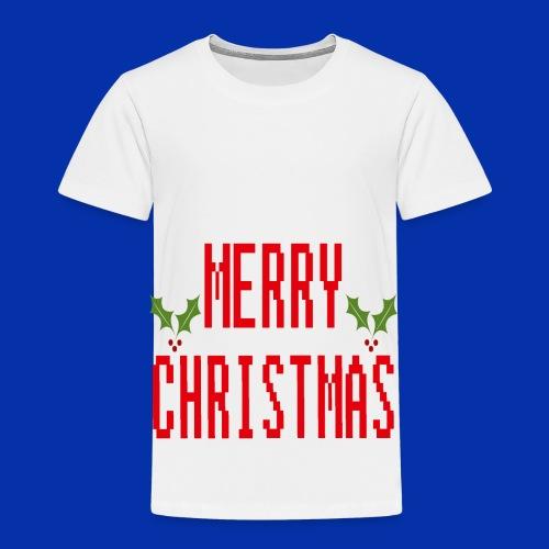 MerryChristmas - Toddler Premium T-Shirt