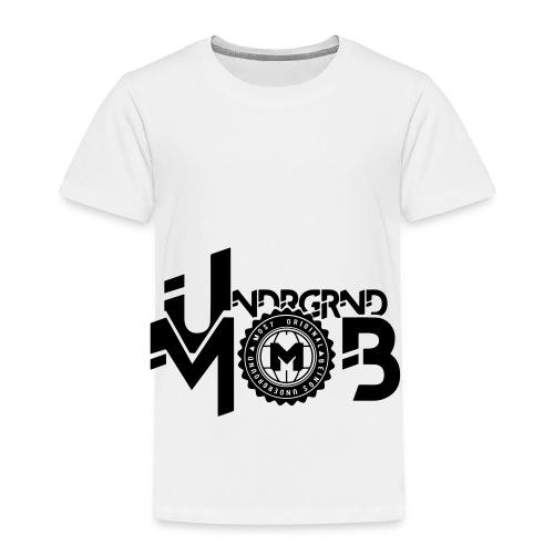UMOB Black - Toddler Premium T-Shirt