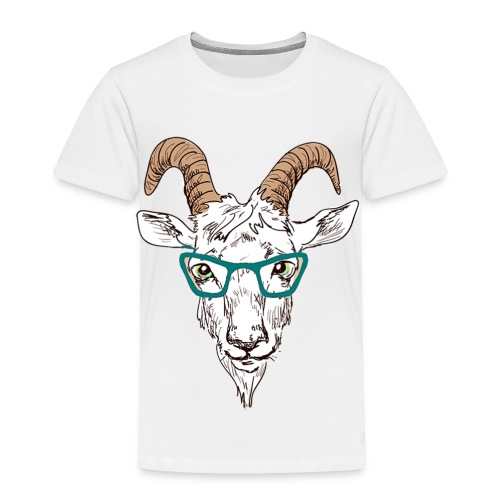 Goat Nerd - For that Goatee Lovin Kid - Toddler Premium T-Shirt