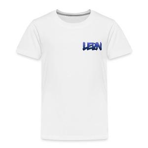 Blue Leon White Tee - Toddler Premium T-Shirt