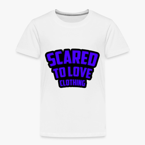 SCARED TO LOVE CLOTHING PURPLE - Toddler Premium T-Shirt