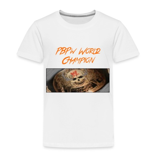 PBPW_World_Champion - Toddler Premium T-Shirt