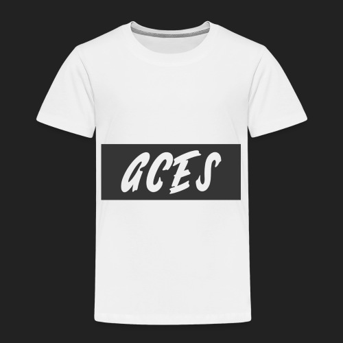 Aces Box Logo - Toddler Premium T-Shirt