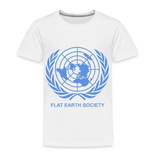 Flat Earth Society - Toddler Premium T-Shirt