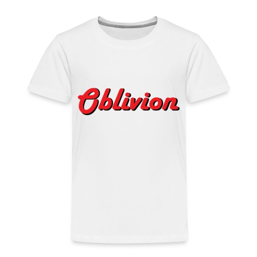 Oblivion Text Design - Toddler Premium T-Shirt