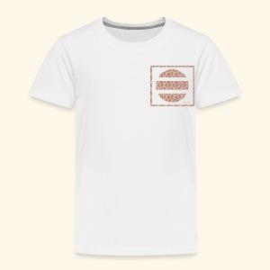 Broken floral circle - Toddler Premium T-Shirt