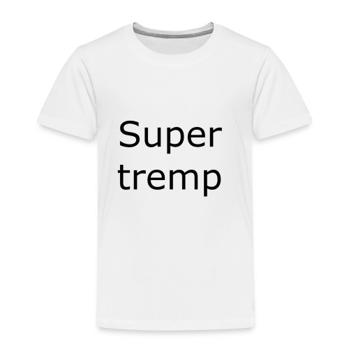 Super tremp name logo - Toddler Premium T-Shirt