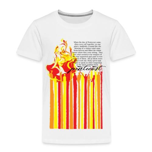 PENTECOST (for white T-shirt) - Toddler Premium T-Shirt