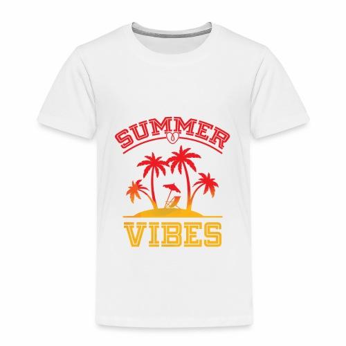 Summer Vibes - Toddler Premium T-Shirt