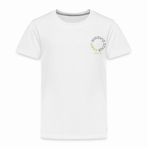 Winding Stair Farm logo - black text - Toddler Premium T-Shirt