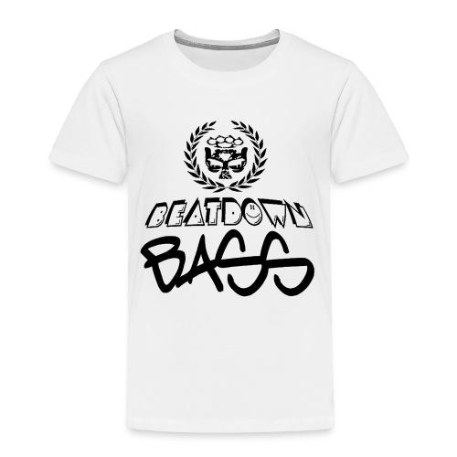 BEATDOWN BLACK LOGO - Toddler Premium T-Shirt