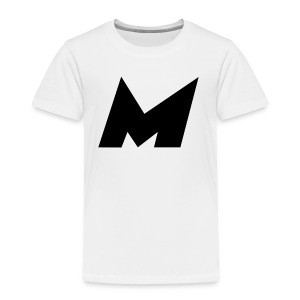 Official Black Mystic Logo (M Letter Logo) - Toddler Premium T-Shirt