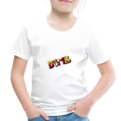DUMB MERCH - Toddler Premium T-Shirt