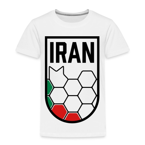 Iran Football Federation Crest - Toddler Premium T-Shirt