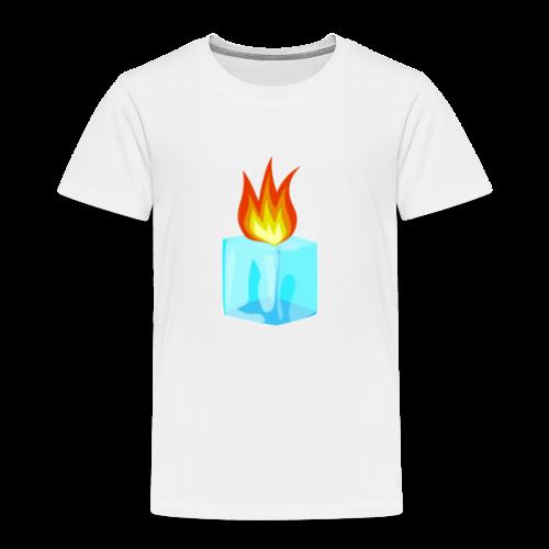 PZKTastic Logo T-Shirt (Get White as the Color) - Toddler Premium T-Shirt