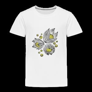 Floral design - Toddler Premium T-Shirt