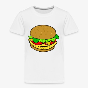 Comic Burger - Toddler Premium T-Shirt