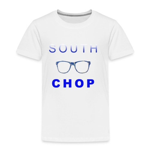 Glasses logo with text - Toddler Premium T-Shirt