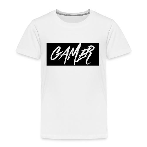 Gamer Logo Shirt - Toddler Premium T-Shirt