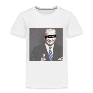 Donald Trump Genius - Toddler Premium T-Shirt