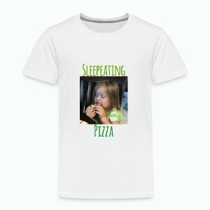 Sleepeating Pizza - Toddler Premium T-Shirt