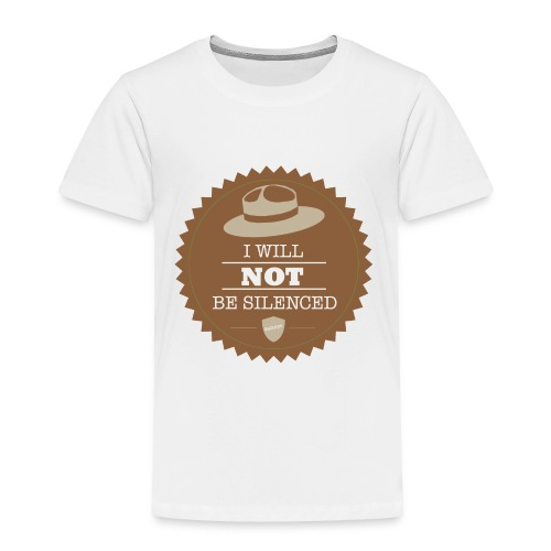 Not be Silenced - Toddler Premium T-Shirt