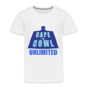 Cape and Cowl Unlimited - Toddler Premium T-Shirt