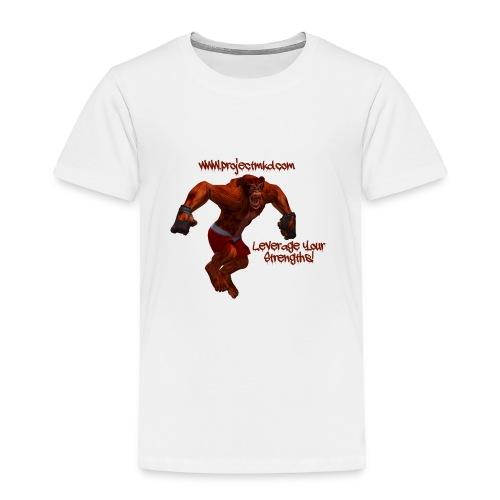 Munkee Kissin Dunkee's - Munkee - Toddler Premium T-Shirt