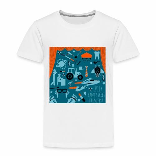 2017 Rant Street Film Fest - Toddler Premium T-Shirt