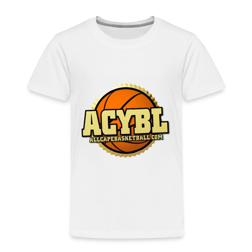 ACYBL ALL CAPE YOUTH BASKETBALL LEAGUE - Toddler Premium T-Shirt
