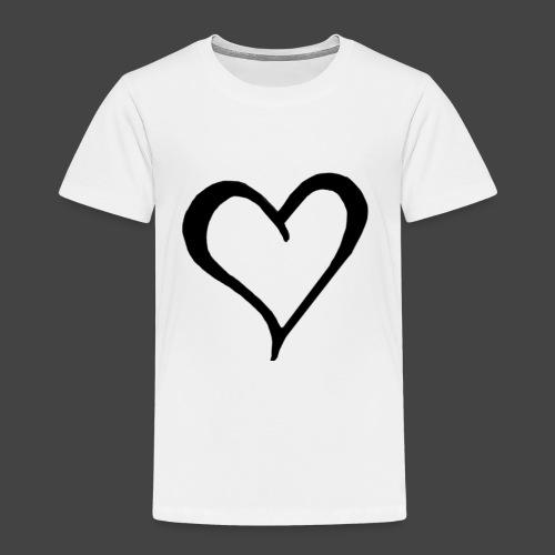 Heart Sketch - Toddler Premium T-Shirt