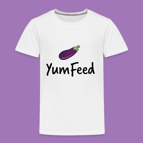 YumFeed logo - Toddler Premium T-Shirt