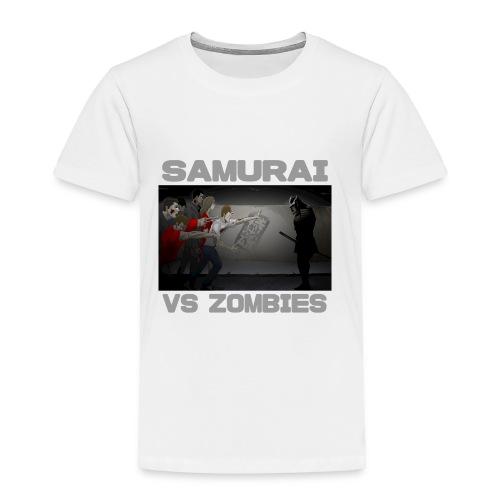 Samurai vs Zombies - Toddler Premium T-Shirt