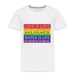 rainbow solidarity - Toddler Premium T-Shirt