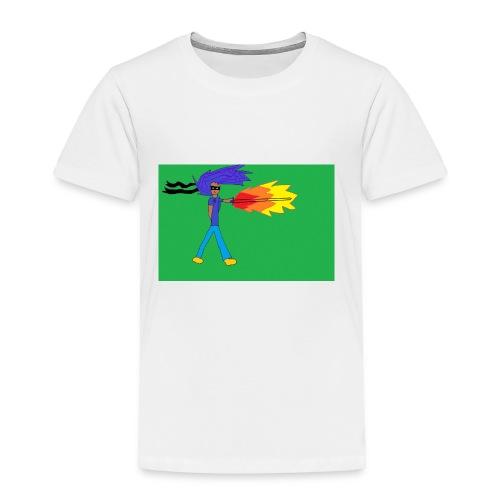 blazing_sky_katana - Toddler Premium T-Shirt